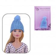 Шапка для кукол (голубой)
