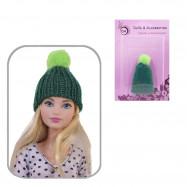 Шапка для кукол (зеленый)