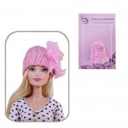 Шапка для кукол (розовая)