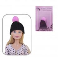Шапка для кукол (черный)