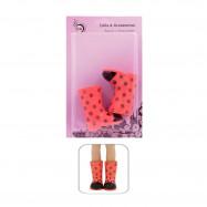 """Резиновые сапожки для Антонио Хуан 33 см - """"Бабочка"""""""