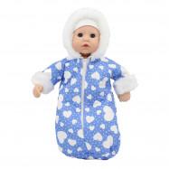 """Одежда для Беби Анабель 36 см. - """"Голубой конверт"""""""