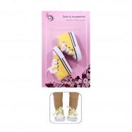 """Обувь для Беби Бон сестрички 43 см. - """"Солнечные кеды"""""""