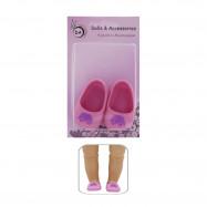 "Обувь для Беби Бон сестрички 43 см. - ""Бабочки"""