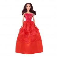 """Бальное платье для Барби - """"Алая роза"""""""