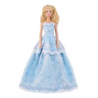 """Бальное платье для Барби - """"Озерный Ирис"""""""