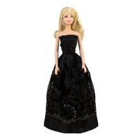 """Бальное платье для Барби - """"Царица ночи"""""""