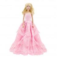 """Бальное платье для Барби - """"Розовый ангел"""""""