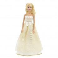 """Бальное платье для Барби - """"Сливочный десерт"""""""