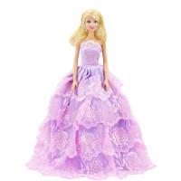 """Бальное платье для Барби - """"Ветка сирени"""""""