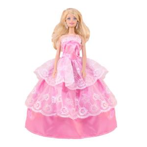 """Бальное платье для Барби - """"Яблонев цвет"""""""