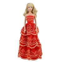 """Бальное платье для Барби - """"Танец пламени"""""""