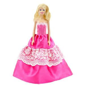 """Бальное платье для Барби - """"Малиновый мусс"""""""