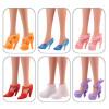 """12 пар обуви для Барби - """"Модный показ"""""""