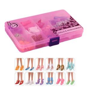 """12 пар обуви для Барби - """"Хорошее настроение"""""""