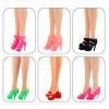 """12 пар обуви для Барби  """"Я люблю туфли!"""""""