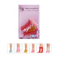 """6 пар обуви для Барби - """"Прима"""""""