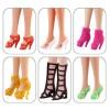 """6 пар обуви для Барби - """"Элита"""""""