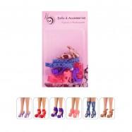 """6 пар обуви для Барби - """"Легенда"""""""