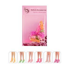 "6 пар обуви для Барби - ""Волшебная лампа"""