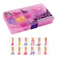 """12 пар обуви для Барби - """"Наслаждение выбором"""""""