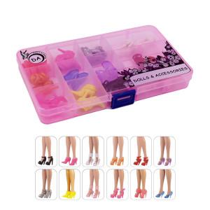 """12 пар обуви для Барби  """"Дубль"""""""