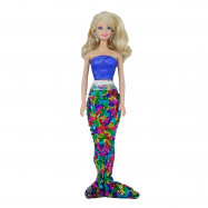Хвост и наряд принцессы русалки Ариэль для Барби
