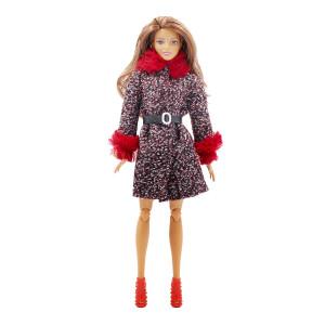 """Пальто для Барби - """"Зимняя вишня"""""""