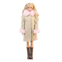 """Пальто для Барби - """"Очаровательная леди"""""""