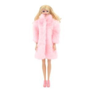 """Шубка для Барби -  """"Фруктовый лед"""""""