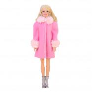 """Пальто для Барби - """"Клубничный шейк"""""""