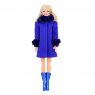 """Пальто для Барби - """"Василек"""""""