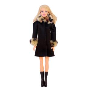 """Пальто для Барби - """"Королевский ирбис"""""""