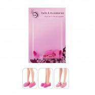 """3 пары обуви для Энчантималс - """"Фламинго"""""""