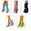 "5 пар обуви для Эвер Афтер Хай  - ""Изысканный выбор"""