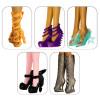 "5 пар обуви для Эвер Афтер Хай -  ""Цвет счастья"""