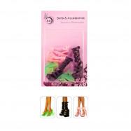"3 пары обуви для Монстер Хай - ""Роковая красотка"""