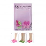 3 пары обуви для кукол Сказочный патруль 28 см. – «Милашка»