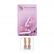 """Обувь для Вестида де Азул 28 см. - """"Цветочный принт """""""