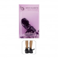 "Обувь для Вестида де Азул 28 см. - ""Чернее ночи"""