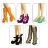 "5 пар обуви для Винкс - ""Цвет счастья"""